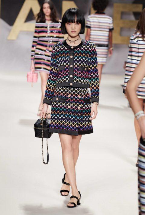 Chanel runway model