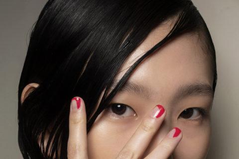 Halloween Nail designs red drip