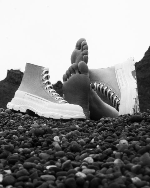 Alexander McQueen Tread Slick Photography initiative