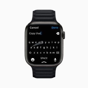 apple watch 7 messaging