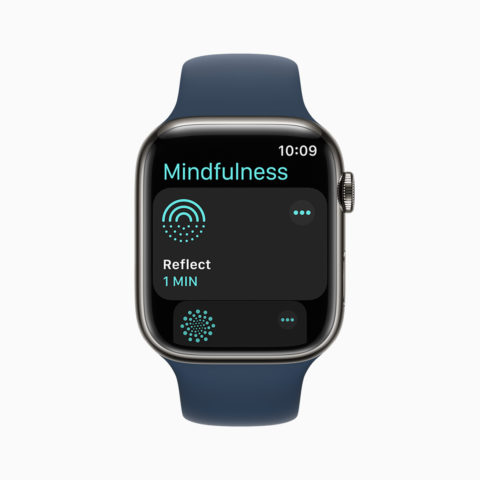 apple watch series 7 mindfulness