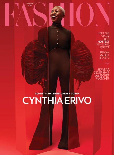 Cynthia Erivo Fashion November Cover
