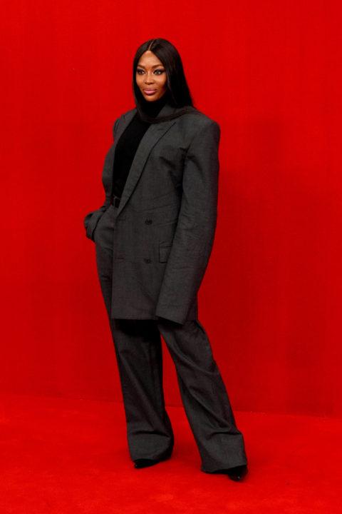Balenciaga and The Simpsons Red Carpet: Naomi Campbell