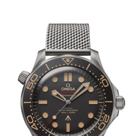 James Bond No Time to Die Omega watch