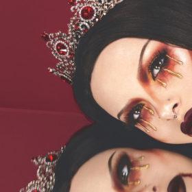 Kimberley Margarita makeup using Quo Halloween Beauty products