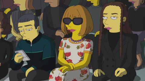 Anna Wintour The Simpsons Balenciaga audience