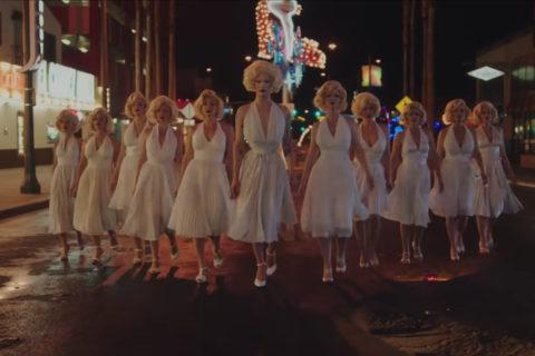 "Drag Queen Violet Chachki Prada Fall/Winter 2018 ""Neon Dreams"" film"