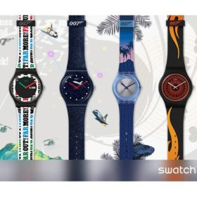Swatch James Bond No Time to Die Collection